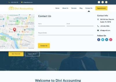 map-and-form-divi-mega-menu